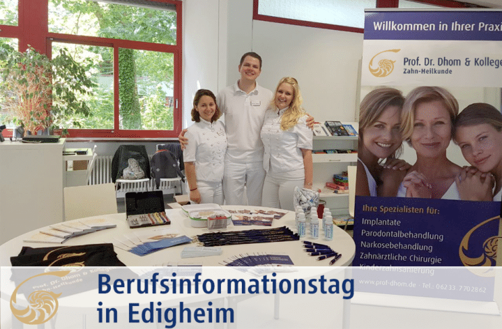 Berufsinformationstag in Edigheim