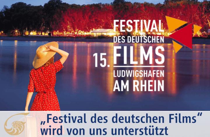 """""""Festival des deutschen Films"""" wird von uns unterstützt."""