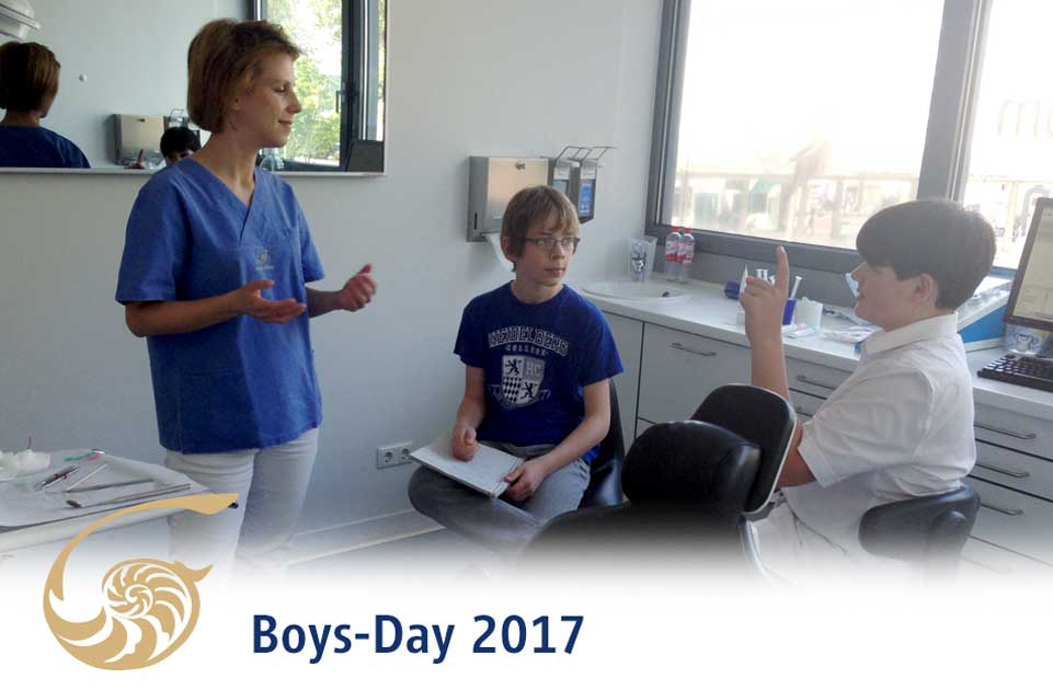 Boys-Day in unserer Praxis